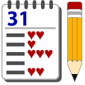 Thirty-one Card Game Pad icon