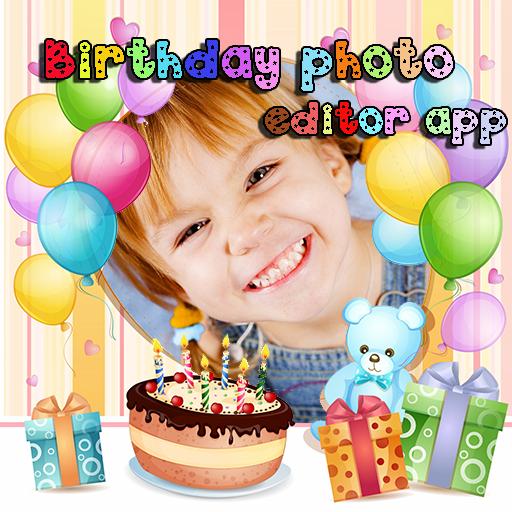 生日照片編輯器應用程式 LOGO-APP點子