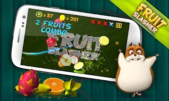 Screenshot of Fruit Slasher 3D