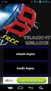 Track-It for Hurricanes - screenshot thumbnail