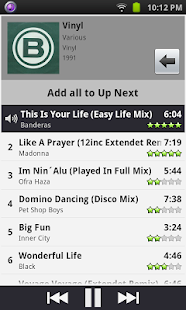 Remote for iTunes DJ & UpNext- screenshot thumbnail