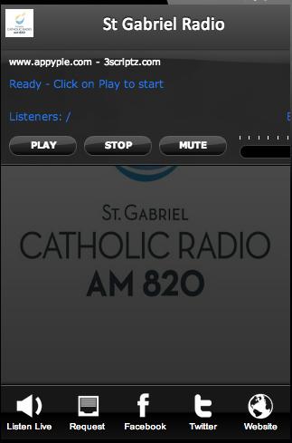 St Gabriel Radio AM 820
