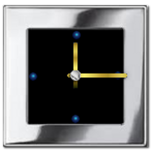 Metal Look Clock widget 個人化 App LOGO-硬是要APP