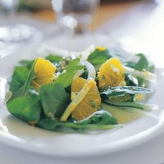 Arugula, Fennel and Orange Salad