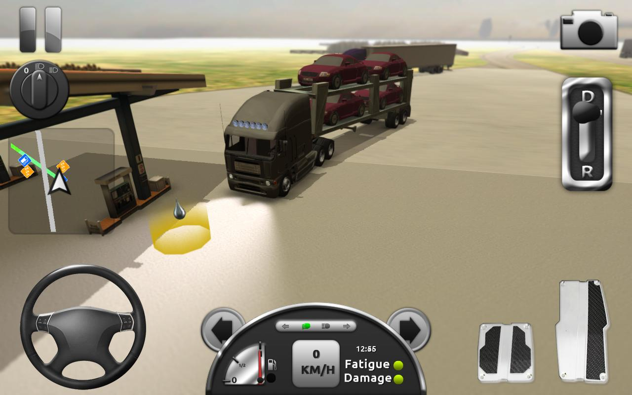 Screenshots of Truck Simulator 3D for iPhone