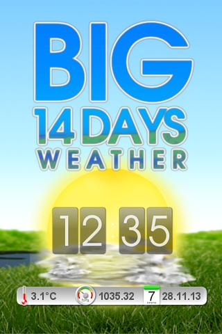 BIG 14 Days Weather PRO