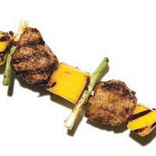 Pork Tenderloin with Mango