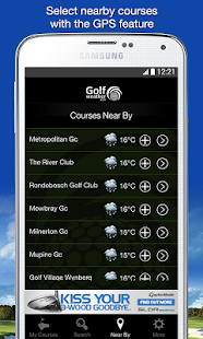 Golf Weather- screenshot thumbnail