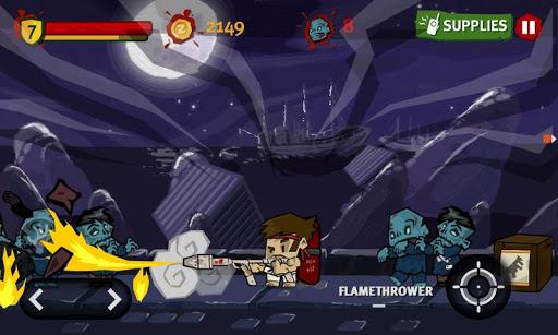 Игра Dante Zomventure для планшетов на Android