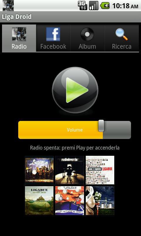 Liga Droid- screenshot