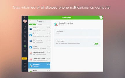 AirDroid - Android on Computer Screenshot 3