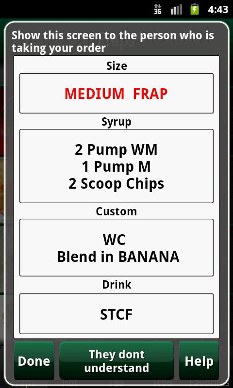 Hidden Menu Coffee Drinks - screenshot