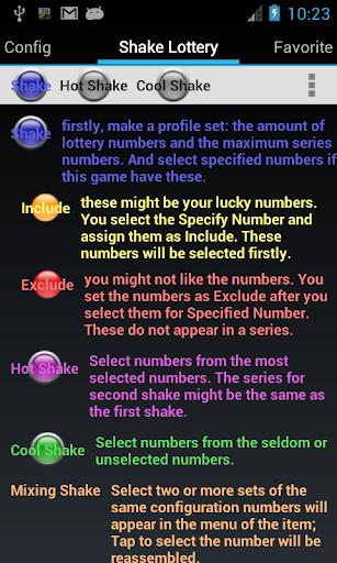 Shake Lottery