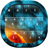 Galaxy Keyboard GO Theme