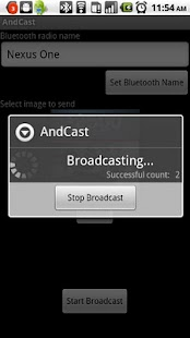 AndCast Bluetooth Marketing - screenshot thumbnail