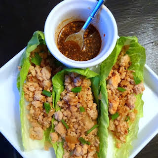 Chicken Lettuce Wraps.