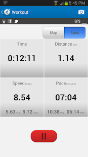 MapMyRun GPS Running - screenshot thumbnail