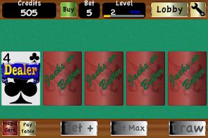 Screenshot of TouchPlay Video Poker Casino