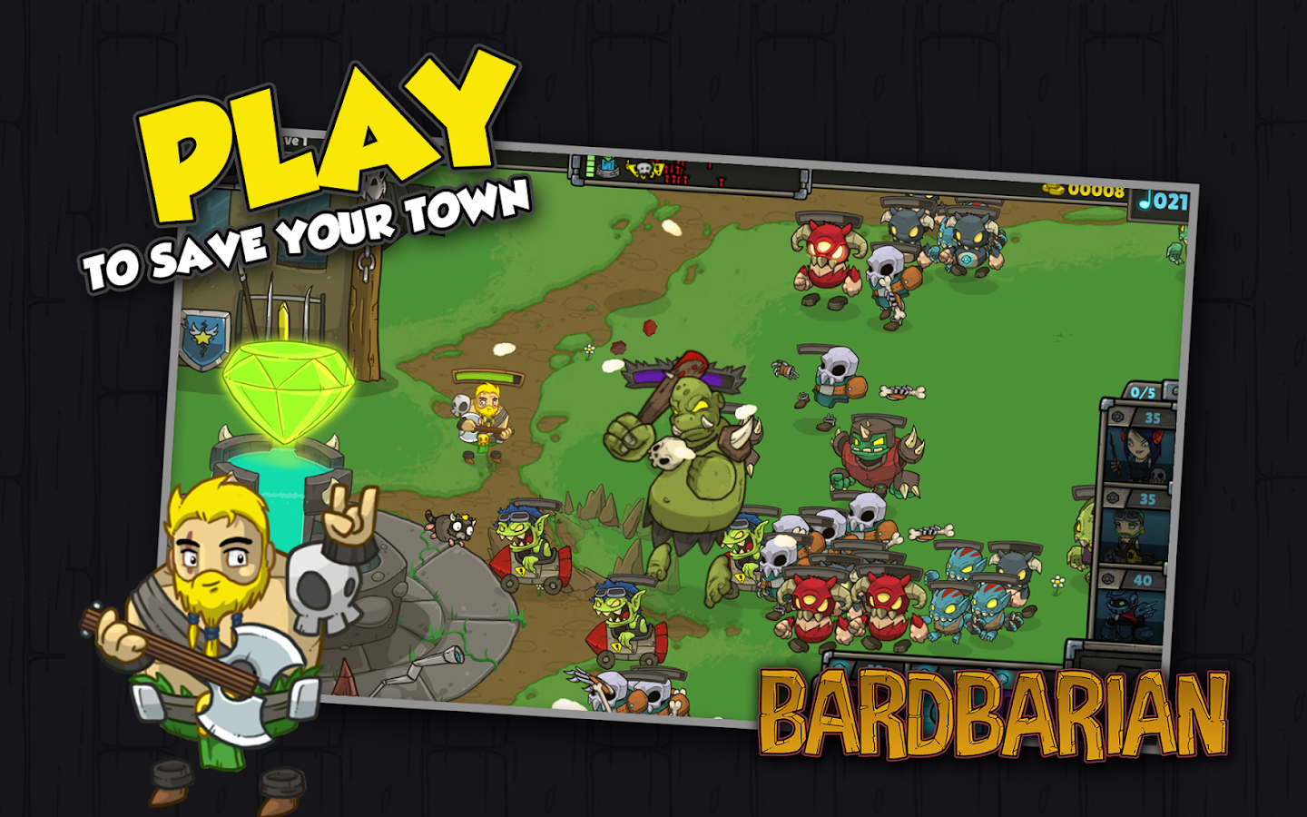 Bardbarian- screenshot
