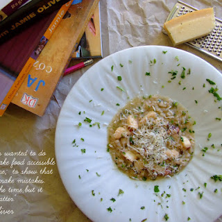 Octopus Risotto.