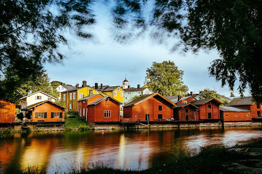 Porvoo, outside of Helsinki, Finland.