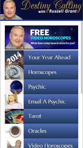 Horoscopes from Russell Grant
