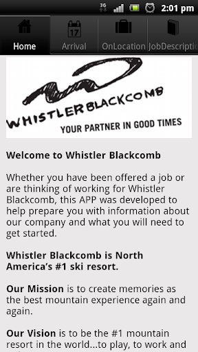 Whistler HR