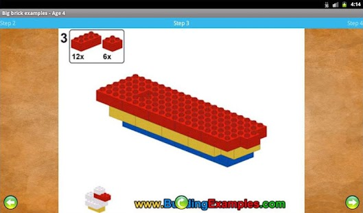 Big brick examples - Age 4- screenshot thumbnail