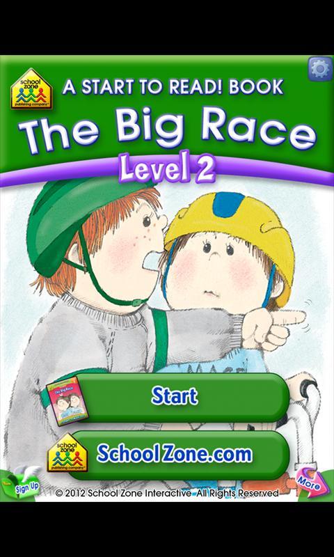 The Big Race - Start to Read!- screenshot