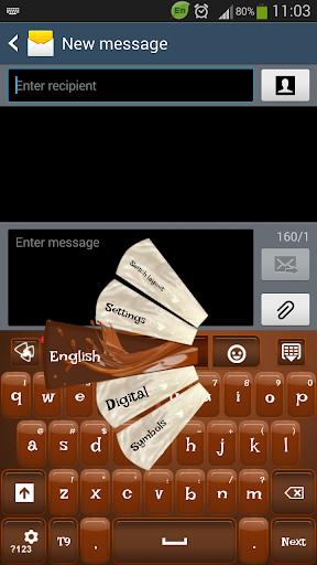 GO键盘巧克力糖果
