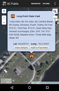 Ultimate US Public Campgrounds- screenshot thumbnail