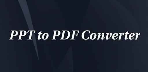convert ppt to pdf gratis