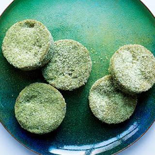 Matcha-White Chocolate Sugar Cookies