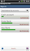 Screenshot of MoneyFlow Expense Manager Free