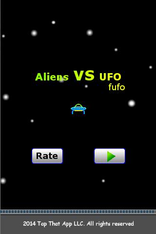 Aliens vs Ufo