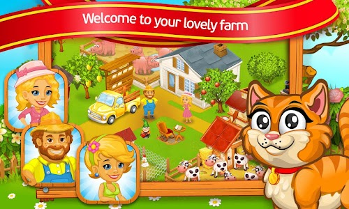 Farm Town: lovely pet on farm v1.1.16 (Mod)