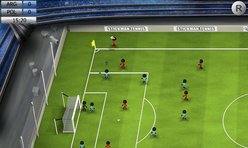 Stickman Soccer 2014 screenshot #1