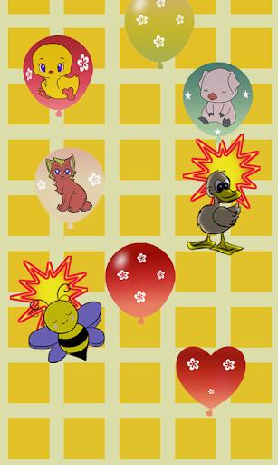 Balloons Game: Animal sound