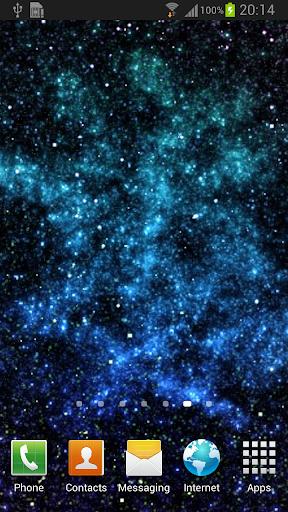 Starfield Parallax LWP Lite