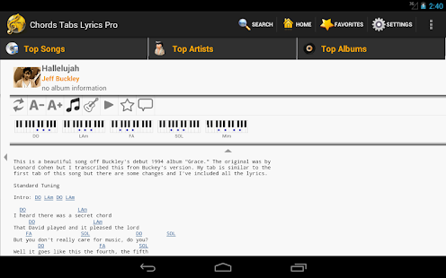 Chords Tabs Lyrics Light- screenshot thumbnail