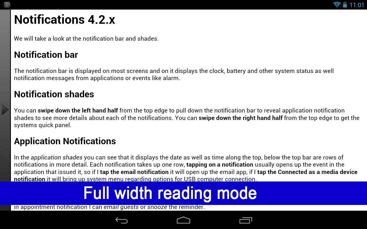 How to use Google Nexus 7 2012- screenshot