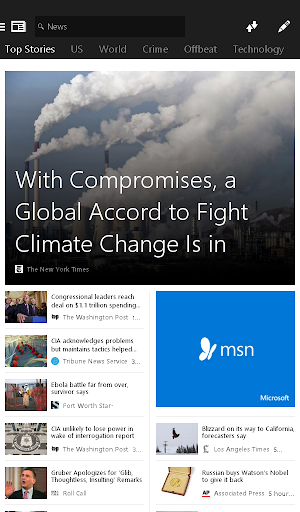 MSN News - Breaking Headlines Screenshot