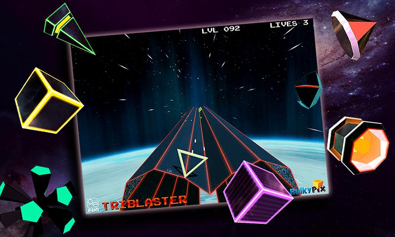 TriBlaster - screenshot