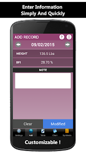 Weigh-In Deluxe Weight Tracker - náhled
