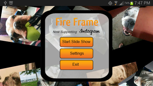 FireFrame - Picture Frame