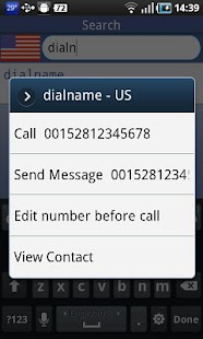 DialName - screenshot thumbnail
