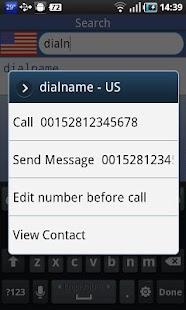 DialName - screenshot thumbnail