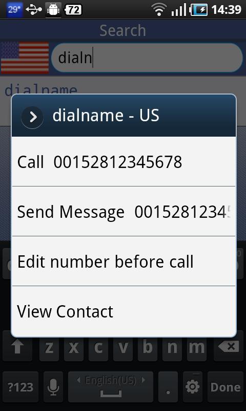 DialName - screenshot
