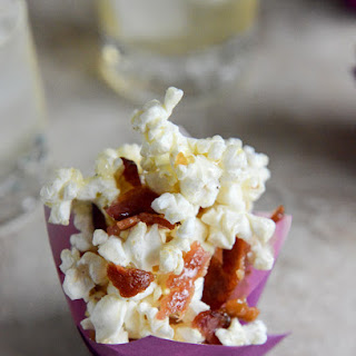 Smoky Bacon Popcorn with Burnt Sugar and Sea Salt.