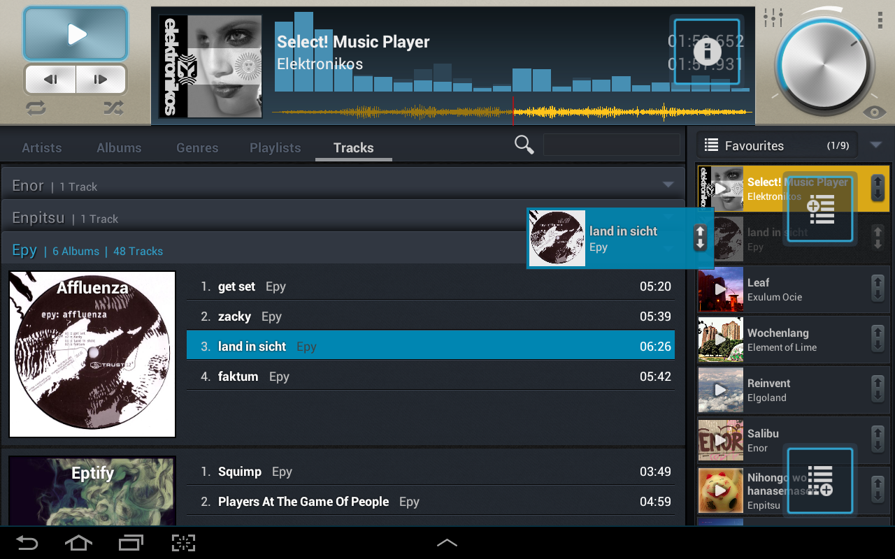 Select! Music Player Pro - screenshot
